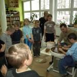 22.12.2009 Zajęcia z garncarstwa i profilaktyki