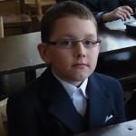 Kamil Malek z III klasy