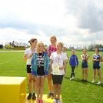 Brązowe medale za 4x100 m