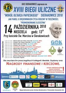 biegi papieskie 2018