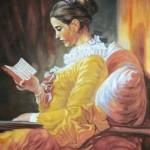 Dziewczyna czytająca książkę, J.H. Fragonard