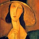 Portret kobiety w kapeluszu, Amadeo Modigliani