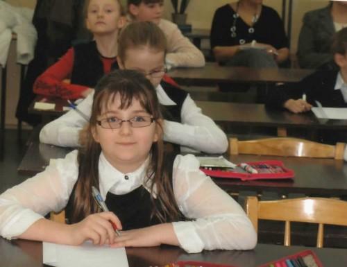 """""""Mistrz ortograficznej Korridy 2008"""" – Paulina Szczodrowska"""